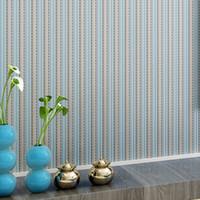papel pintado moderno para las paredes papel pintado a rayas papel rodante no tejido para las