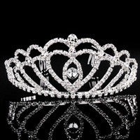 freies verschiffen Perle diamant braut crown internationalen station verkauf haarschmuck hochzeit braut schmuck hochzeit kleid zubehör