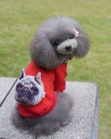 Wholesale Dog Cat Clothing - Top Pet Dog Cat Puppy clothes tide dog Sweatshirts Sweater fashion Colourful Free shipping wholesale 049