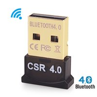 Wholesale Adaptador Usb - Wholesale-Wireless USB Bluetooth Adapter V4.0 Bluetooth Dongle Music Sound Receiver Adaptador Bluetooth Transmitter For Computer PC Laptop
