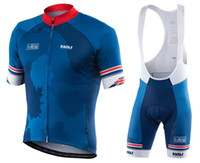 Wholesale Gb Cycling Jersey - 2017 Men Summmer triathlon GB Dark Blue Cycling Jersey mountain bike clothes maillot ciclismo ropa Size XXS-6XL