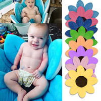 Wholesale Blooming Baby - Blooming Bath Baby Flower Soft Cute Foldable Foam for Newborn Baby Bathing in Sink 10 Colors