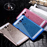 Wholesale Iphone Case Bling Mix - For Galaxy S7 edge J7 J5 J1 s6 edge plus note 3 4 s5 s4 Case Luxury Bling Glitter Shining Cases Brilliance Back Cover can do mix order