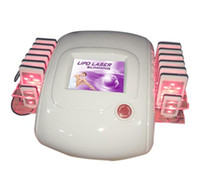 Wholesale Machines For Slimming - 14 laser pads ! diode lazer slimming diode laser machine for sale