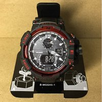 Atacado Hot Sale De alta qualidade Men's Luxury Casual Sports Militar G Estilo Shock Impermeável Relojes Hombre Montre LED Display Quartz Watch