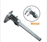 "Wholesale Stainless Micrometer - Digital Caliper 0-150mm 6"" 0-200 0-300mm Stainless Steel Metal Casing Digital CALIPER VERNIER Caliper GAUGE MICROMETER Electronic Calipers"