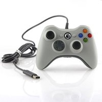 Wholesale Double Joystick Game Joypad - ITSYH USB Wired Game Controller For xbox360 Gamepad Joypad Joystick Double For Microsoft PC Computer Accessory bulk pack TW-430
