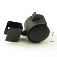 Wholesale Furniture Swivels - 4PCS Black 40mm Replacement Swivel Casters Office Chair Baby Crib Sofa Brake Plastic Rolling Caster Furniture