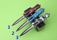 Wholesale Bee Tools - Free shipping Butterfly knife queen bee knife 5 options Zinc aluminum alloy Handle high quality Tactical survival pocket knife EDC tool
