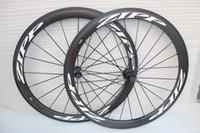 Wholesale Carbon Wheels Novatec - Novatec 271 Hubs carbon Road Bike Surface Dimple 404 700C Clincher Tubular carbon Wheelset 50mm Depth 25mm Width Full Carbon Bike Wheels