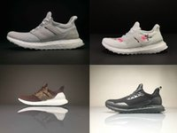 Wholesale Pvc Souls - 2017 Ultra Boost 3.0 Reigning Champ HAVEN X Perfect Real Boost Running Shoes White Grey Black Soul Triple White Plum Blossom Men Women Shoes