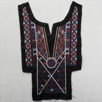 Wholesale Diy Fabric Accessories - 2017 Hot Sale Womens Clothing Accessories Embroidery Vintage Exaggerated Women Collar DIY False Collar Sewing Accessories
