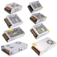 Wholesale Input Modules - LED Switching Power Supply Transformer METAL Led driver 12V 5A 60W 120W 180W 480W input 110v 220v with fan For Led Strips Modules