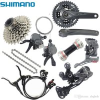 Wholesale Shimano relief m4050 x9 s s speed mtb groupset bike with integrated hydraulic disc brake