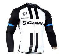 ingrosso cima del ciclo gigante-Giant 2017 manica lunga ciclismo Jersey Maillot Ciclismo hombre Bicicletta Sport Ciclismo Abbigliamento Top Mountain Bike Ropa Ciclismo D0801