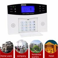 голос системы охранной сигнализации оптовых-Wholesale- Original HOMSECUR Wireless&wired GSM Home Security Alarm System (Support EN/ES/DE/FR/RU voice)