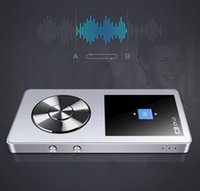 Wholesale 2016 HiFi Metal MP4 Player Built in Speaker GB Inch Screen Play hrs can Support GB SD Card with Video Alarm FM Radio