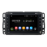 Wholesale Dvd Gps Gmc - Fit for GMC Yukon Tahoe 2007-2012 full touch Android 5.1.1 1024*600 HD car dvd player gps radio 3G wifi bluetooth dvr OBD2 FREE MAP CAMERA