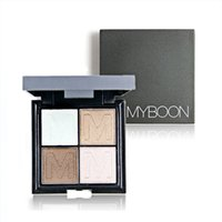 Wholesale Mousse Eye Shadow - HOT Brand Makeup Eyeshadow 4 Color Mousse Eye Shadow Palette Lasting Waterproof Fashion Sexy Eyeshadow Cosmetics