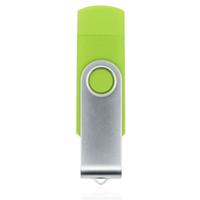 Wholesale Usb Memory 16 - HanDisk PVC Double Head Screw USB Flash Drive 128MB 1 2 4 16 32 64 128gb Memory Stick Portable Hard Drive Usb Pen Drive EU067