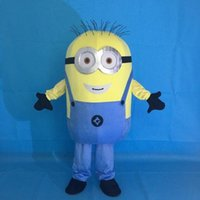 Wholesale Despicable Costumes - Factory Outlet Despicable me minions mascot costume for adults despicable me mascot costume free shipping