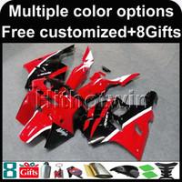 carenagem zx6r 95 vermelho venda por atacado-23 cores + Botls Aftermarket ABS Fairing capa da motocicleta Para Kawasaki ZX-6R 1994-1997 ZX6R 94 95 96 97 vermelho Motorcycle Body Kit