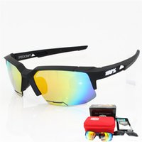 Wholesale Base Bicycle - The New 2017 SpeedCraft Brand 100% Base Outdoor Sports Bicycle Mens Sunglasses Bicicleta Gafas ciclismo Cycling Glasses Eyewear 2 lens UV400