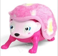 Wholesale Interactive Pet Toys For Kids - Interactive Pet Hedgehog Plush Interactive Hedgehog Toy with Comb Electronic Plush Toys with Lights Sounds Sensors for Kids