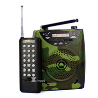 control remoto de mp3 de aves al por mayor-2200mAh Camuflaje Digital Portátil 500 m de Control Remoto Inalámbrico Caza Reproductor de MP3 Bird Llamador Parlante Aves Dispositivo de Llamada de Sonido