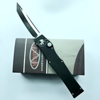 Wholesale Hunting Knifes Sheath - best quality microtech andy halo V black tanto drop satin blade dual action removal tool K sheath A07 A161 A162 A163 C07 knife knives