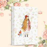 Wholesale Notebook Grid - Wholesale- Beautiful Girls A small square grid diary notebook Notepad hand book