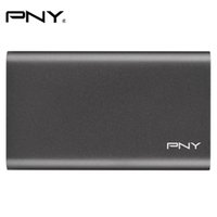 Wholesale Ssd External Hard Drives - Wholesale- PNY Original ELITE Portable SSD Drive 240GB 480GB High Speed Up To 430MB s For PC Laptop Hard Drive Disk HDD External SSD