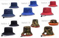 Wholesale Denim Sports Cap - Basketball Sports Bucket Bucket hats baseball Bucket Hats mens Blacid Wash Denim Wide Brim Hats Football Outdoor sport Fisherman Caps