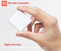 Wholesale cube controller - Wholesale-New 2016 Xiaomi Mi Cube Controller Zigbee Version Controlled by Six Actions with Phone App for Smart Home Device TV Smart Socket