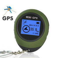 Mini GPS Tracker Tracking Device Travel Portable Keychain Locator Pathfinding Véhicule moto Outdoor Sport Handheld Keychain