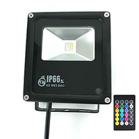 Wholesale Flood Homes - Timing Remote Control for Home Garden Scenic Spot Hotel Lands cape(RGB Daylight White)10W RGBW LED Flood Light Outdoor Security Lights