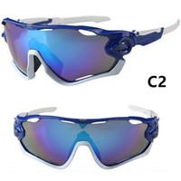 Wholesale mtb frame full - Luxury Sunglasses For Men Goggles Brand Designer Sunglasses With Frame For Mountaineering Sun Glasses High Quality MTB UV400 Sunglass
