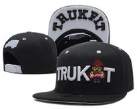 Wholesale Trukfit Hats For Cheap - Snapback Hats Caps Hats for men Adjustable New Color Brown Snapbacks Cheap Hat Cap Collection Trukfit TMT Snapbacks Mix Order Free Shiping