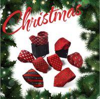 Wholesale Polyester Christmas Necktie - Christmas neck tie 24 color 145*7cm Jacquard necktie X-mas necktie Men's arrow Polyester Tie for Christmas gift YYA631