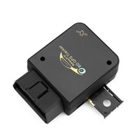 Wholesale Obd2 Checker - Mini OBD2 Scanner GPS Tracker Realtime Car Fault Diagnostic Interface Checker GSM GPRS Spy Device Support Android and iOS System