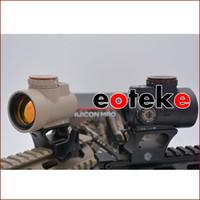 gewehr airsoft jagd großhandel-Tactical XWXS Trijicon Mro Zielfernrohr Red Dot Sight Jagd Gewehr für die 20mm Mount Airsoft