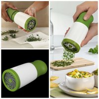 Wholesale Parsley Herbs - Herb Grinder Spice Mill Parsley Shredder Chopper Fruit Vegetable Cutter New Creative Cooking Tools 2015 New Promotion hot search
