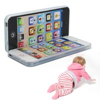 Wholesale Children Study - New Kids Child YPhone Music Mobile Phone Study Educational Toy Gift Hot