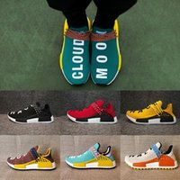 Wholesale Pale Blue Runner - 2017 NMD Human Race trail Running Shoes Men Women Pharrell Williams NMD Runner Boost Shoes noble ink core Black White pale nude sneaker