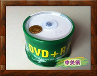 Wholesale Blank Barrel - banana can print D9 DVD + R DL 8.5 G burn disc disc blank CD 8x Barrels packaging 50pcs lot