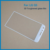 Wholesale Nexus Cover Thin - Tempered Glass Full Cover Screen protector Ultra-Thin 3D Curved Edge for LG G5