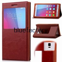 Universal Wallet Flip titular caso couro TPU View Window Cover para 3,5 4,0 4,5 5,5 5,0 5,5 6,0 polegadas para iPhone Samsung