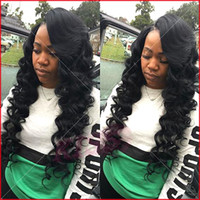 Wholesale Affordable Baby - Fantasy Human Hair Lace Front Wigs Baby Hair Affordable Full Lace Wigs 100% Peruvian Virgin Wig For Black Women