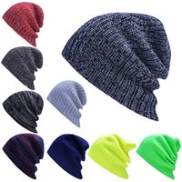 Beanie/Skull Cap origin of halloween - The origin of the new plate supply wool jacket autumn winter hat boy ladies knitting cap lovers