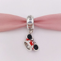 Wholesale Wholesale Authentic Hats - Authentic 925 Silver Beads Minnie Mouse Minnie Ear Hat Charm Charms Fits European Pandora Style Jewelry Bracelets & Necklace 7501057370327P